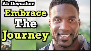 embrace the journey coach ak ikwuakor the hyper conscious podcast speaking video